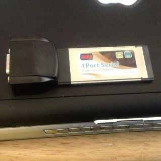 SYBA 1 Port Serial Express Card Adapter RS232