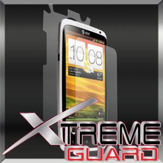 FULL BODY Clear LCD Screen Protector Shield Skin For HTC One X