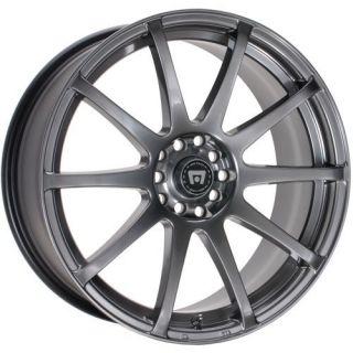 15 Inch Wheels Rims Motegi Racing SP10 Honda Civic Accord Scion 5 Lug