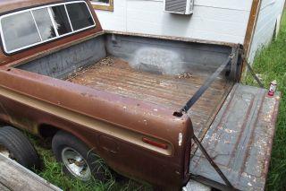 73 79 ford f100,f150,f250,f350 truck short bed (1979,1978,1977,1976