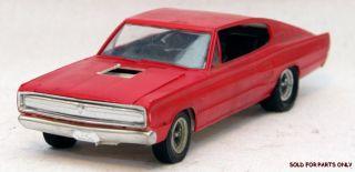 Vintage 1967 Dodge Charger AMT MPC Model Car Kit 65 66