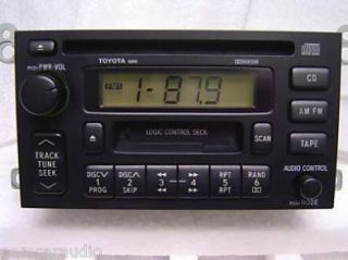 96 97 98 99 2000 2001 Toyota Camry Sienna Solara Radio Tape CD Player