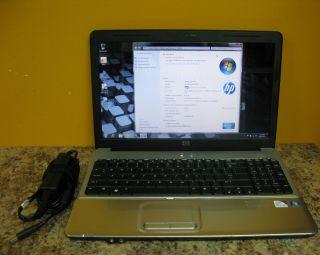HP G60 15 6 Intel Pentium Dual Core 2 2GHz 4GB 320GB Laptop Notebook