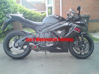 Suzuki GSX R600 R750 2006 2007 Matte Black Sport Motorcycle Injection