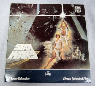 20th Century Fox Star Wars Stereo Extended Play Laser Disc LD Movie