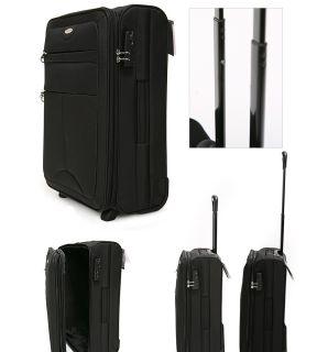 Samsonite Dublin Travel Bag Luggage 21 Black V5809802
