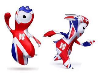 London Olympics 2012 Wenlock Rectangular Insulated Lunch Box Bag UK