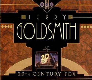 Jerry Goldsmith at 20th Century Fox 6 CD Ltd EDT Mint
