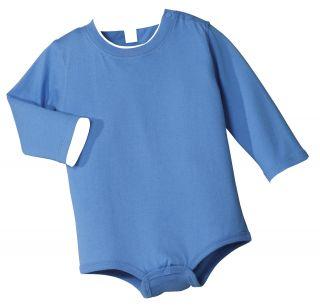 Precious Cargo Infant Baby Long Sleeve Ringspun Cotton Snap Onesie
