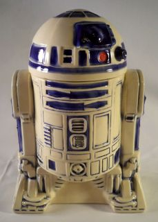 R2D2 Cookie Jar R2 D2 Ceramic 1977 20th Century Fox Near Mint
