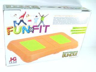 New 2K Games Fun N Fit Nintendo Wii Video Game Bundle