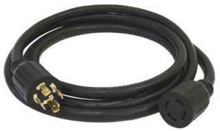 Generac 25 Foot 30 Amp L14 30 Portable Generator Power Cord