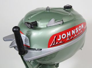 Vintage Johnson TN26 Sea Horse 5HP Outboard Boat Motor TD TN Trolling