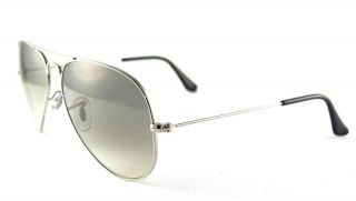 Ban Aviator Large Metal RB3025 003 32 Silver Gray Gradient 55mm