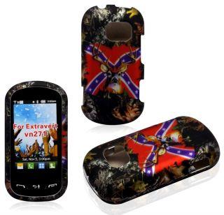 2D case LG Extravert VN271 Verizon Hard rubberized Cover Cases camo