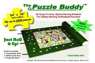 Puzzle Buddy 3000 Puzzle Storage Mat Puzzle Caddy 54 x 35