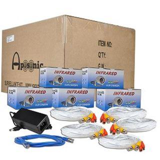 Channel Standalone Network DVR Surveillance Kit w SMA
