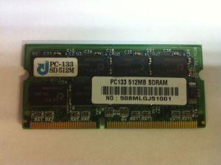 512 MB 512MB PC133 144PIN SODIMM SDRAM Laptop Notebook Memory PC 133