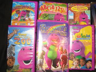 Lot Of 16 Barney And Friends VHS/VCR Movies