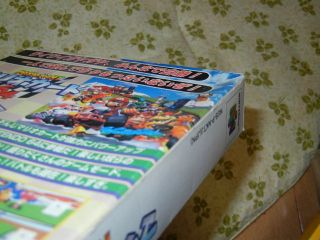 Nintendo 64 N64 Super Mario Kart 64 Japan
