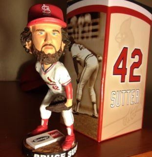 St Louis Cardinals HOF Bruce Sutter 8 3 SGA Bobblehead