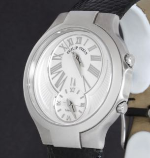 Ladies Quartz Philip Stein Teslar Dual Time Watch 6 CW ZB Lizard