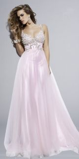 Light Pink Sweetheart Neckline Wedding Prom Dresses Ball Evening Gown