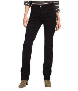 Not Your Daughters Jeans Marilyn Straightleg in Black Super Stretch