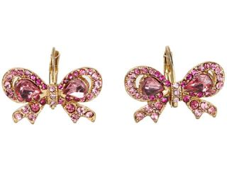 betsey johnson iconic pretty bow earrings $ 30 00 betsey