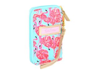 lilly pulitzer carded id wristlet canvas $ 38 00 lilly pulitzer carded