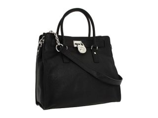 michael michael kors hamilton large north south tote black and
