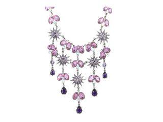 Betsey Johnson Celestial Multi Geb Bib Necklace $135.99 $195.00 SALE