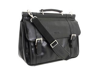 Manhattan Leather   6 Double Gusset Dowel Rod Portfolio $149.95
