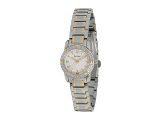 Bulova Ladies Diamond   98R155    BOTH Ways
