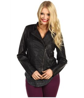 Calvin Klein Jeans Faux Leather Motorcycle Jacket $89.99 $149.50