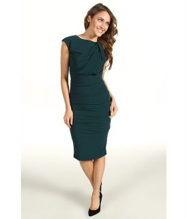 Nicole Miller Tidal Pleated Stretch Crepe Dress $319.99 $355.00 SALE