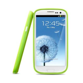 SPIGEN SGP Samsung Galaxy S3 Case Ultra Bumper Color Series Lime Green