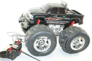 Not Working as Is Eztec Silverado HD Monster Wheel 4x4 R C Chevy Truck