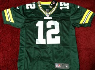 New Aaron Rodgers 2012 Jersey M L XL Green Bay Packers