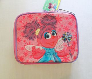 ABBY CADABBY LUNCH BAG/ BOX w/ Water Bottle, NEW