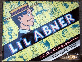 Lil Abner Dailies Vol.1 1934 36 Hardback Al Capp New LIL ABNER