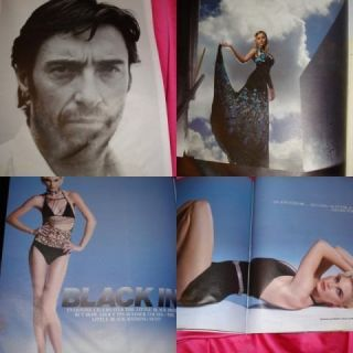 Interview Hugh Jackman Abbie Cornish Tracey Emin 2006