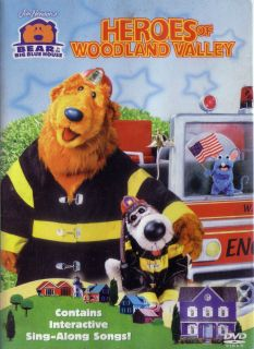 Bear in the Big Blue House   Heroes of Woodland Valley (DVD, 2003)