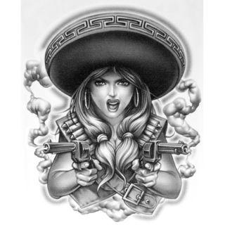 ea1142643 ... OG Abel Realistic Temporary Tattoo Charra Big Tattoos · MEXICAN ...