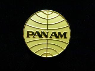 Pan Am World Airways Logo Stewardess Hat Pin Fly Girls ABC Wings