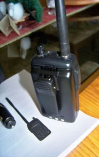 Icom IC T8A Tri Band 2M 6M 440 Handheld Transceiver Handie Talkie