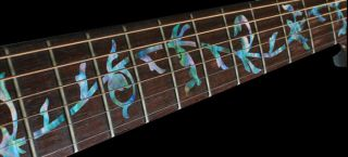 Fret Markers Inlay Sticker(Decal) For Guitar    Material PET