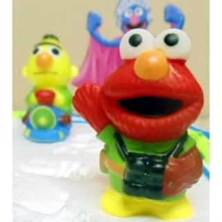 Birthday Cake Topper Set Zoe Abby Cadabby Ernie Bert Big Bird