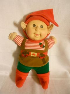Cabbage Patch Kids Elf Doll Christmas Holiday 1992