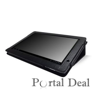 Acer Iconia Tab A500 Folio Leather Case Cover w Stand